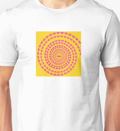 MOM HEARTED - Yellow Unisex T-Shirt