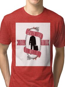 Pretty Girl At the Airport Tri-blend T-Shirt