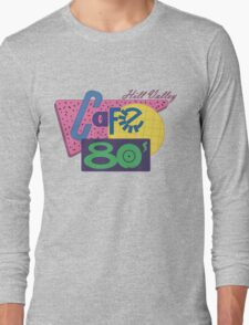 Cafe 80´s Long Sleeve T-Shirt