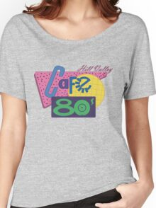 Cafe 80´s Women's Relaxed Fit T-Shirt