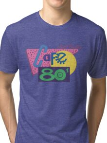 Cafe 80´s Tri-blend T-Shirt