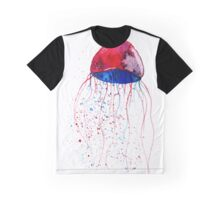 Hand painted watercolor jellyfish Graphic T-Shirt