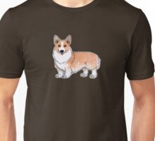 Corgi dog Unisex T-Shirt
