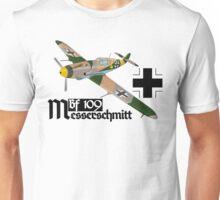 Messerschmitt Bf 109 Luftwaffe 3D Unisex T-Shirt