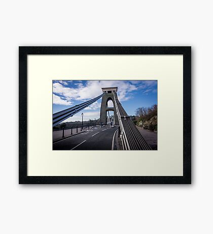 Clifton Suspension Bridge Framed Print