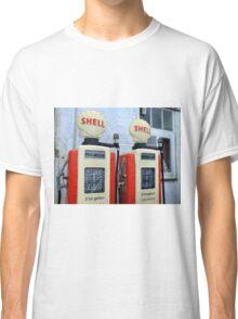 Vintage Gasoline Pumps Classic T-Shirt