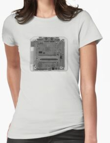 Sega Genesis - X-Ray Womens Fitted T-Shirt