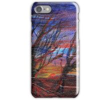 Panoramic dusk iPhone Case/Skin