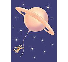 Under Saturn Flying Dream Photographic Print