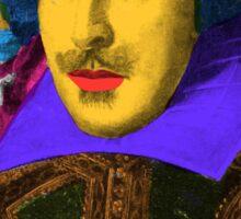 William Shakespeare Pop Art Sticker