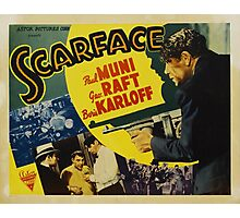 Gangster Movie - Scarface 1932 Photographic Print
