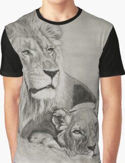 Wildlife - Lion couple - 2015 Graphic T-Shirt