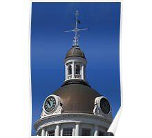 Kingston City Hall Clock tower Poster