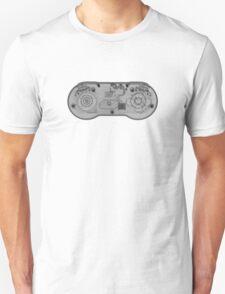 Super Nintendo (SNES) Controller - X-Ray Unisex T-Shirt