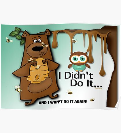 I Won't Do It Again Poster