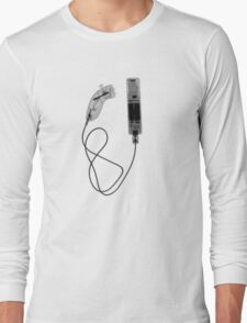 Nintendo Wii Controller - X-Ray Long Sleeve T-Shirt