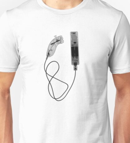 Nintendo Wii Controller - X-Ray Unisex T-Shirt