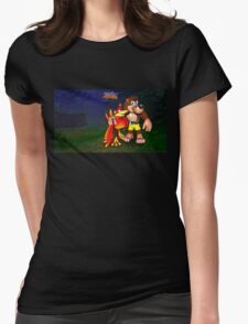 Kazooie Womens Fitted T-Shirt