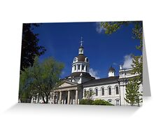 Kingston, Ontario, Canada City Hall Greeting Card