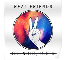 """Real Friends """"Peace out"""" Poster"""