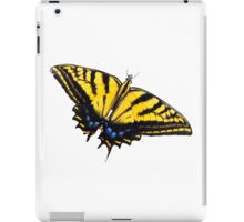 Butterfly White Background iPad Case/Skin