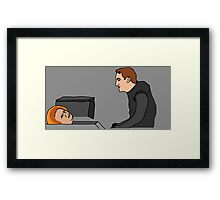 """""""Tap into the Dark Side again"""" Framed Print"""