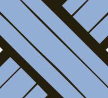 Pencil Power Rose Quartz & Serenity Pattern Sticker