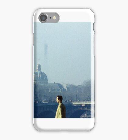 Pedestrians in Paris iPhone Case/Skin