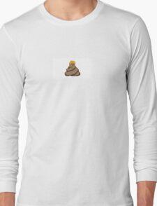Trump Dump Pixel Design Long Sleeve T-Shirt