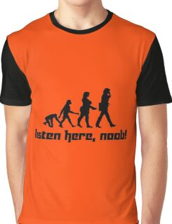 Listen here, noob! Graphic T-Shirt