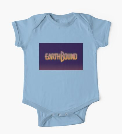 Earthbound text One Piece - Short Sleeve
