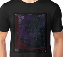 USGS TOPO Map Hawaii HI Makena 349561 1995 24000 Inverted Unisex T-Shirt