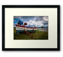Holy Island Framed Print