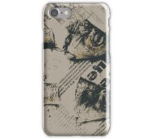 Fish Heads & Tails on PRAVDA iPhone Case/Skin