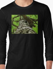 Taking Tree Climbing to the Next Level Long Sleeve T-Shirt