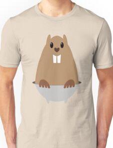 GROUNDHOG & SHADOW Unisex T-Shirt