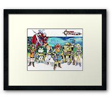 Chrono heroes Framed Print