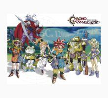 Chrono heroes Kids Tee