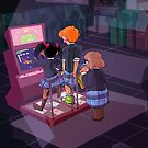 nicorinpana_arcade by KayJayTwisp
