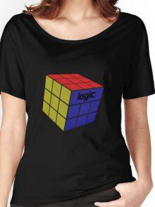Logic - Rubix Cube  Women's Relaxed Fit T-Shirt