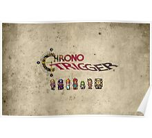 Chrono trigger - grunge background Poster