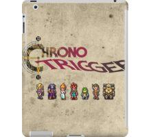 Chrono trigger - grunge background iPad Case/Skin