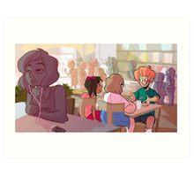 nicorinpana_cafe Art Print