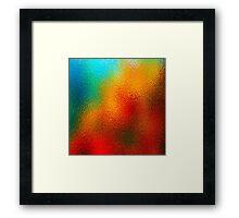 Color Crush Framed Print