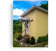 Small Town, Small Hall  Canvas Print