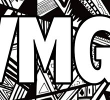 VMG - Black & White Sticker