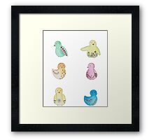 Birds Framed Print