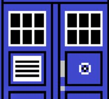 8 BIT TARDIS - DR WHO Sticker