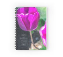 Love Starts With You Spiral Notebook