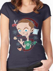 Rock-paper-scissors...lizard Women's Fitted Scoop T-Shirt
